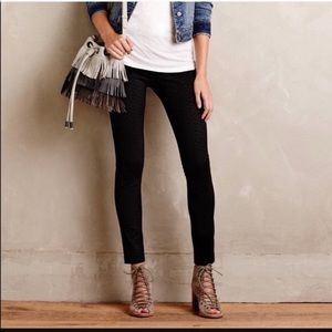 Anthropologie Velvet Leggings NWT